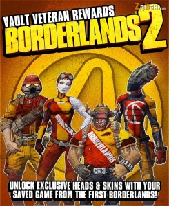 Conserva i save di Borderlands per le ricompense di Borderlands 2