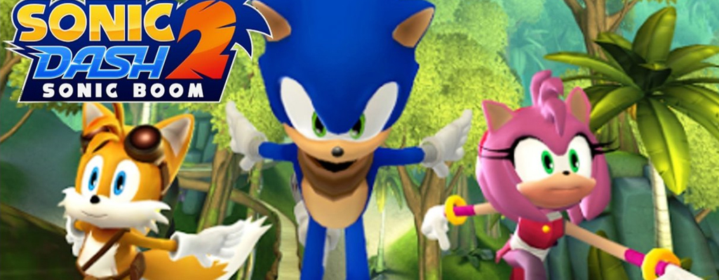 Sonic Dash 2: Sonic Boom è ora disponibile